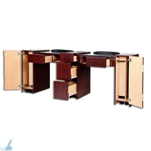 LED UV Gel Light Manicure Table  UV Nail Table -> Table Salon Led