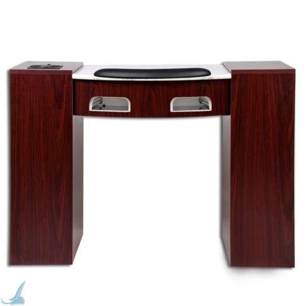 Uv Gel Nail Table Manicure Station W Uv Gel Light