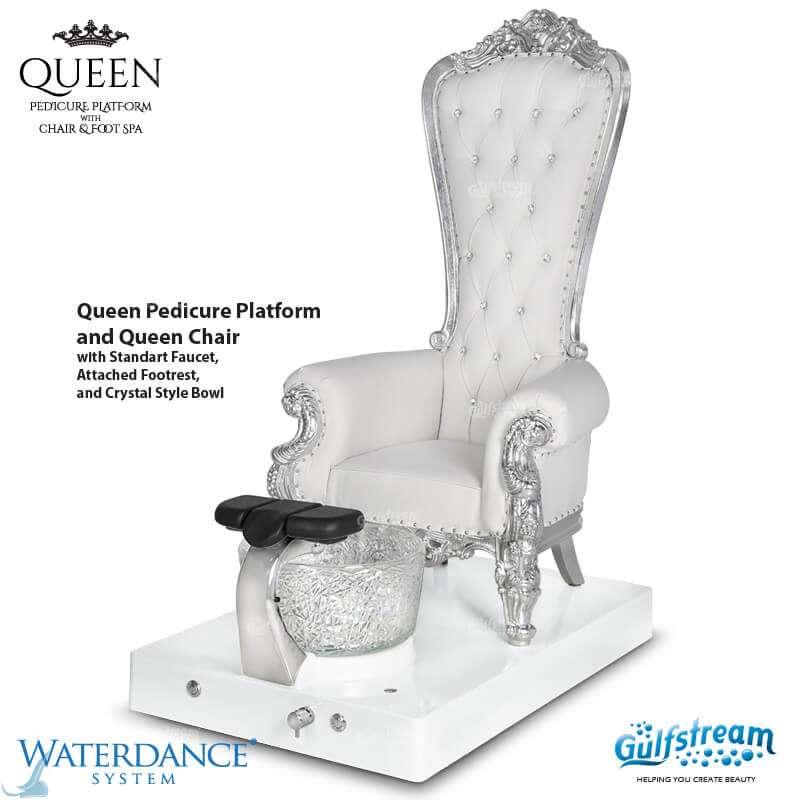 Queen Pedicure Spa Bench